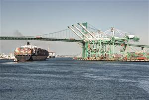 Congestion at Los Angeles Ports | September 2014